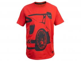 Manthey Racing T-Shirt Porsche 911 GT2 RS MR rød