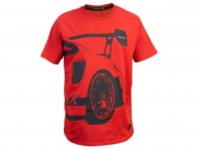 Manthey Racing T-Shirt Porsche 911 GT2 RS MR rot