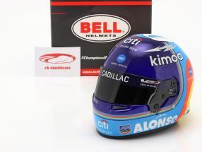 Fernando Alonso #10 Vinder 24h Daytona 2019 hjelm 1:2 Bell