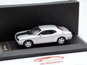 Dodge Challenger SRT8 anno 2009 argento / nero 1:43 Premium X / 2 ° scelta