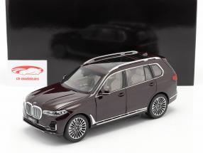 BMW X7 (G07) Baujahr 2019 ametrin rot metallic 1:18 Kyosho
