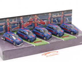 5-Car Set Renault Paris Saint-Germain 1:64 Majorette