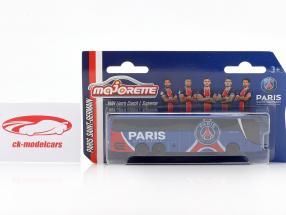 MAN Lion's Coach L Supreme Team bus Paris Saint-Germain 2020 1:64 Majorette