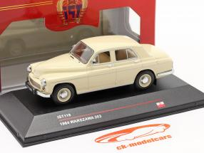 Warszawa 203 jaar 1964 beige 1:43 IST-Models