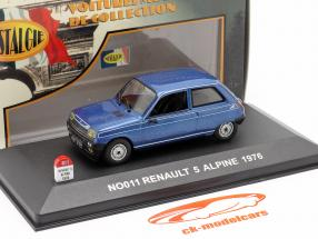 Renault 5 Alpine Baujahr 1976 blau 1:43 Nostalgie