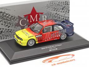 BMW M3 (E30) Unitron #21 DTM 1992 Kris Nissen 1:43 CMR