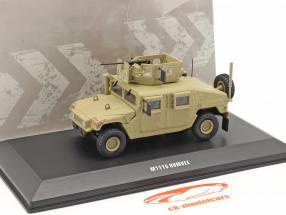 M1115 Humvee Militärfahrzeug mit Geschütz sandfarben 1:48 Solido