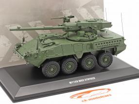 M1128 MGS Stryker Veículo militar camuflar 1:48 Solido