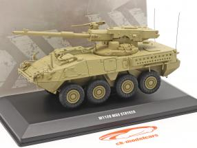 M1128 MGS Stryker Véhicule militaire couleur sable 1:48 Solido