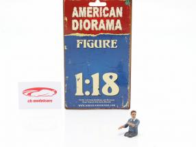 chiffre 3 Hazmat Crew 1:18 American Diorama