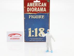 figur 6 Hazmat mandskab 1:18 American Diorama
