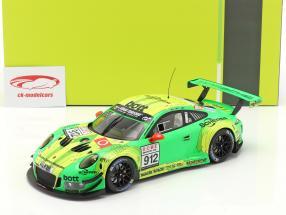Porsche 911 (991) GT3 R #912 VLN Nürburgring 2018 Manthey Grello 1:18 Ixo
