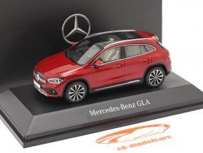 Mercedes-Benz GLA (H247) Ano de construção 2020 designo patagônia vermelha bright 1:43 Spark