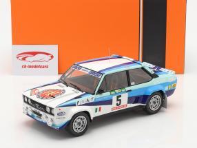 Fiat 131 Abarth #5 Wereldkampioen Rallye Portugal 1980 Röhrl, Geistdörfer 1:18 Ixo