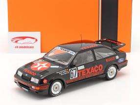 Ford Sierra RS Cosworth #67 Ganador 24h Nürburgring 1987 Texaco Racing 1:18 Ixo
