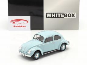 Volkswagen VW Scarabeo Anno di costruzione 1960 Azzurro 1:24 WhiteBox