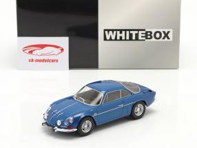 Renault Alpine A110 1300 bleu métallique 1:24 WhiteBox