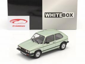 Volkswagen VW Golf I GTI Anno di costruzione 1983 verde chiaro metallico 1:24 WhiteBox