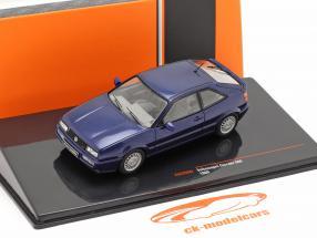 Volkswagen VW Corrado G60 Baujahr 1989 dunkelblau 1:43 Ixo