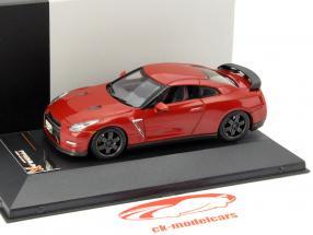 Nissan GT-R Sort Udgave år 2014 rød 1:43 Premium X / 2. plads valg