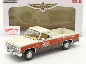 GMC Sierra Classic 1500 Official Truck 67ème Indy 500 1983 1:18 Greenlight