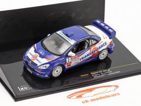 Peugeot 307 WRC #2 vencedora corrida Cevennes 2007 Henry, Lombard 1:43 Ixo / 2 escolha