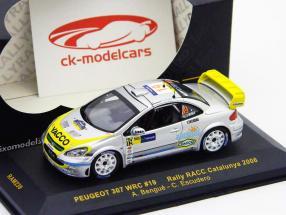 Peugeot 307 WRC #19 Rallye RACC Catalunya 2006 1:43 Ixo / 2. Wahl