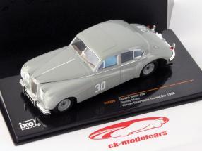 Stirling Moss Jaguar MKVII #30 winnaar Silverstone Touring Car 1952 1:43 Ixo / 2. keuze