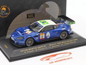Aston Martin DBR9 #1 1000 Miles Brasil 2006 Piquet, Piquet, Bouchut, Neves 1:43 Ixo