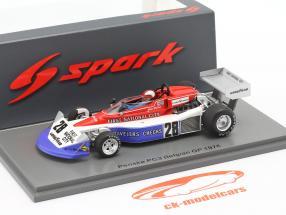 John Watson Penske PC3 #28 7th Belgien GP Formel 1 1976 1:43 Spark