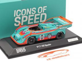 Porsche 917/30 Spyder #0 vencedora Interserie 1975 H. Müller 1:43 Spark