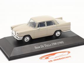 Siam Di Tella 1500 Riley 4 Byggeår 1960 beige 1:43 Altaya