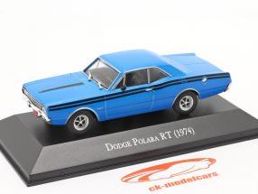 Dodge Polara RT Byggeår 1974 blå 1:43 Altaya