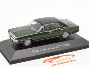 Ford Fairlane LTD V8 Ano de construção 1969 verde escuro 1:43 Altaya