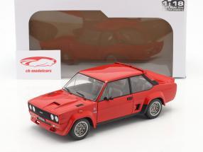 Fiat 131 Abarth Baujahr 1980 rot 1:18 Solido