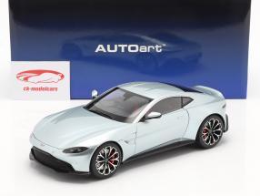 Aston Martin Vantage Bouwjaar 2019 skyfall zilver 1:18 AUTOart