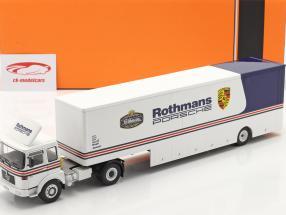 MAN Büssing 19.320 Renntransporter Rothmans Porsche Motorsport 1:43 Ixo