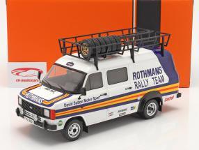 Ford Transit MK II camioneta Rallye Assistance Rothmans 1:18 Ixo