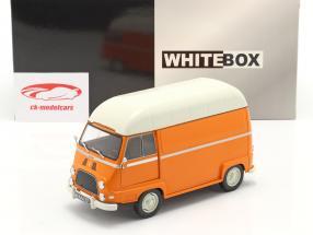Renault Estafette furgão laranja / Branco 1:24 WhiteBox