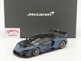 McLaren Senna Anno di costruzione 2018 victory Grigio 1:18 TrueScale
