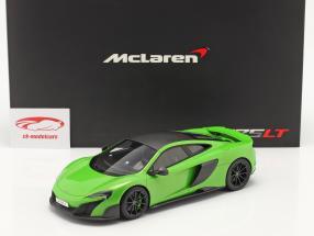 McLaren 675LT Année de construction 2015 napier vert 1:18 TrueScale