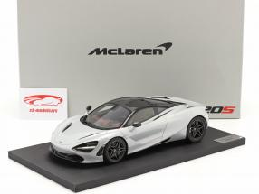 McLaren 720S Ano de construção 2017 geleira Branco 1:18 TrueScale