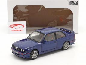 BMW M3 (E30) Coupe Baujahr 1990 mauritius blau 1:18 Solido