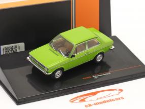 Volkswagen VW Derby LS Année de construction 1977 vert 1:43 Ixo