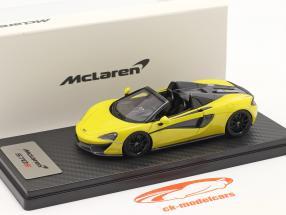 McLaren 570S Spider Anno di costruzione 2017 sicilian giallo 1:43 TrueScale