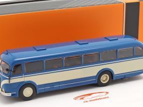 Skoda 706 RO Ano de construção 1947 azul / bege 1:43 Ixo