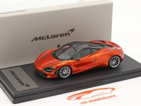 McLaren 720S (P14) Coupe Byggeår 2017 orange metallisk 1:43 TrueScale