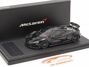 McLaren P1 Baujahr 2013-2015 amethyst schwarz 1:43 TrueScale