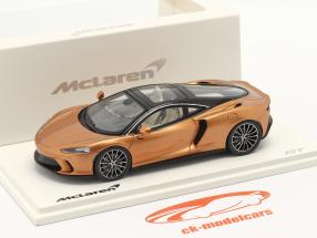 McLaren GT year 2019 copper metallic 1:43 Spark