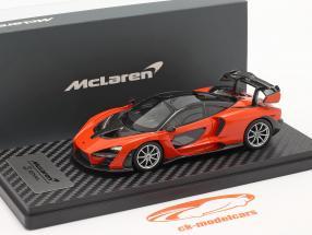 McLaren Senna year 2018 mira orange 1:43 TrueScale